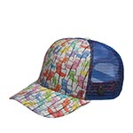 Бейсболка STETSON арт. 7721901 CHAIRS (разноцветный)
