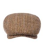 Кепка STETSON арт. 6380506 DRIVER CAP HERRINGBONE (светло-коричневый)