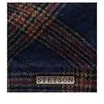 Кепка STETSON арт. 6640203 6-PANEL CAP WOOL CHECK (синий / красный)