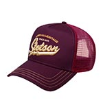 Бейсболка STETSON арт. 7751171 TRUCKER CAP AMERICAN HERITAGE CLASSIC (фиолетовый)