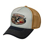 Бейсболка STETSON арт. 7751177 TRUCKER CAP FREE SPIRIT (синий / белый)