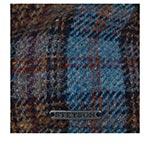 Кепка STETSON арт. 6610203 TEXAS LAMBSWOOL CHECK (синий)