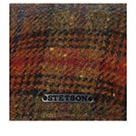 Кепка STETSON арт. 6610203 TEXAS LAMBSWOOL CHECK (коричневый)
