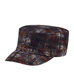 Кепка STETSON арт. 7491301 ARMY CAP PRINTED BABYCORD (коричневый)