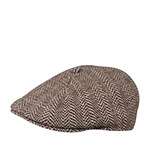 Кепка KANGOL арт. K1221CO Herringbone 507 (коричневый)