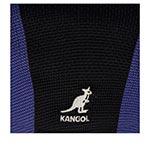 Кепка KANGOL арт. K3404 Sym Stripe 504 (черный / синий)