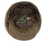 Кепка HANNA HATS арт. Newsboy 20B2 (коричневый / черный)