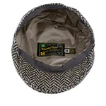 Кепка HANNA HATS арт. Donegal Touring DTC2 (темно-серый / черный)