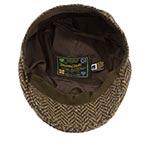 Кепка HANNA HATS арт. Donegal Touring DTC2 (темно-коричневый / черный)