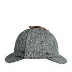 Кепка HANNA HATS арт. Sherlock Holmes SH2 (темно-серый)