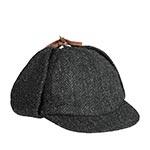 Кепка HANNA HATS арт. Sherlock Holmes SH2 (черный)