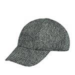 Бейсболка HANNA HATS арт. Baseball Tweed BB2 (темно-серый)