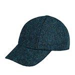 Бейсболка HANNA HATS арт. Baseball Tweed BB2 (темно-синий)