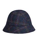 Панама HANNA HATS арт. Eske Tweed ESKE2 (темно-синий)