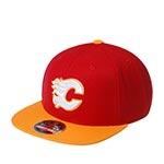 Бейсболка AMERICAN NEEDLE арт. 400A1V-CFL Calgary Flames 400 Series NHL (красный / желтый)