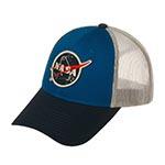 Бейсболка AMERICAN NEEDLE арт. 44730A-NASA Space with NASA Roughage (синий / черный)
