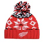 Шапка AMERICAN NEEDLE арт. 42792A-DRW Detroit Red Wings Breezy NHL (красный / белый)