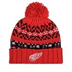 Шапка AMERICAN NEEDLE арт. 42802A-DRW Detroit Red Wings Gusto NHL (красный / черный)