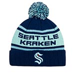 Шапка AMERICAN NEEDLE арт. 42812A-SEK Seattle Kraken Pillow NHL (темно-синий / голубой)