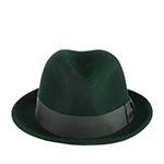 Шляпа BAILEY арт. 7001 TINO (темно-зеленый)