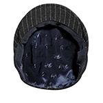 Кепка BAILEY арт. 25206 LORD PINSTRIPE (черный)
