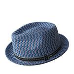 Шляпа BAILEY арт. 81690 MANNES (синий / бежевый)