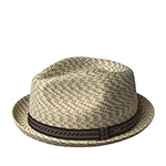 Шляпа BAILEY арт. 81690 MANNES (бежевый / серый)