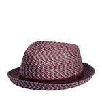 Шляпа BAILEY арт. 81690 MANNES (красный / синий)