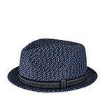 Шляпа BAILEY арт. 81690 MANNES (синий / серый)