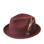 Шляпа BAILEY арт. 3831 CLOYD (бордовый)