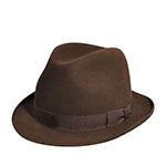 Шляпа BAILEY арт. 6127 EDSEL (коричневый) {chocolate}