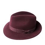 Шляпа BAILEY арт. 37171BH WINTERS (бордовый)