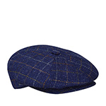 Кепка BAILEY арт. 25239 GALWIN WINDOWPANE (синий) {light navy}