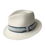 Шляпа BAILEY арт. 63132BH THARP (бежевый / голубой) {natural.surf}
