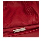 Кепка SEEBERGER арт. 18331-0 LEATHER BALLOON (красный)