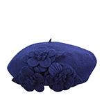 Берет BETMAR арт. B515 FLOWER BERET (темно-синий)