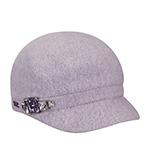 Кепка BETMAR арт. B521 RHINESTONE CAP (лиловый)