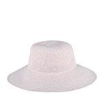 Шляпа BETMAR арт. B176 GOSSAMER (белый / бежевый) {confetti}