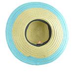 Шляпа BETMAR арт. B1557H LORA (бежевый / голубой)