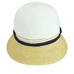 Шляпа BETMAR арт. B1702H KATE (бежевый / белый)