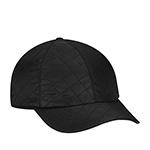 Бейсболка BETMAR арт. B1872H QUILTED RAIN CAP (черный)