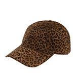 Бейсболка BETMAR арт. B1886H LEOPARD BASEBALL CAP (черный / оранжевый)