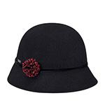 Шляпа BETMAR арт. B1863H SOPHIYA (черный) {black}