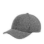 Бейсболка BETMAR арт. B1943H PATTERN BASEBALL CAP (черный / белый)