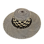 Шляпа CHRISTYS арт. EMMA cpn100541 (черный / бежевый)