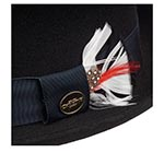 Шляпа CHRISTYS арт. HERITAGE PORK PIE cwf100233 (черный)