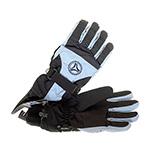 Перчатки HERMAN арт. 4648 (черный / голубой)