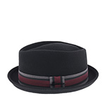 Шляпа HERMAN арт. DON CASH (черный) {black}
