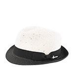 Шляпа HERMAN арт. DON CHICK (белый / черный)