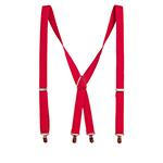 Подтяжки HERMAN арт. TRIGGER 012 (красный)